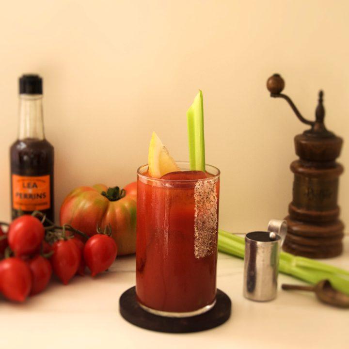 vodka tomato juice cocktail