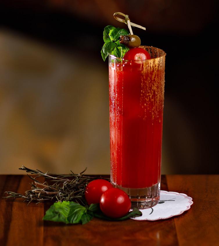 succo di pomodoro vodka sale worchershire e tabasco
